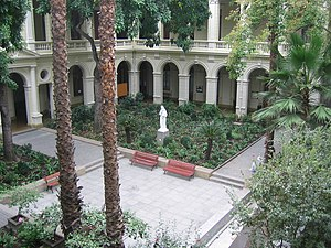 Pontifical Catholic University of Chile - Inside Casa Central