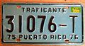PUERTO RICO 1976 -TRAFICANTE LICENSE PLATE - Flickr - woody1778a.jpg