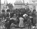 Pace-maker car of the Automobile Association of America arriving at the Alaska Yukon Pacific Exposition, Seattle, June 1909 (AYP 46).jpeg