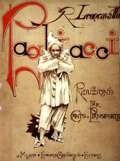 <i>Pagliacci</i> opera by Ruggero Leoncavallo