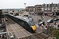 Paignton North - GWR 800302 leaving for London.JPG