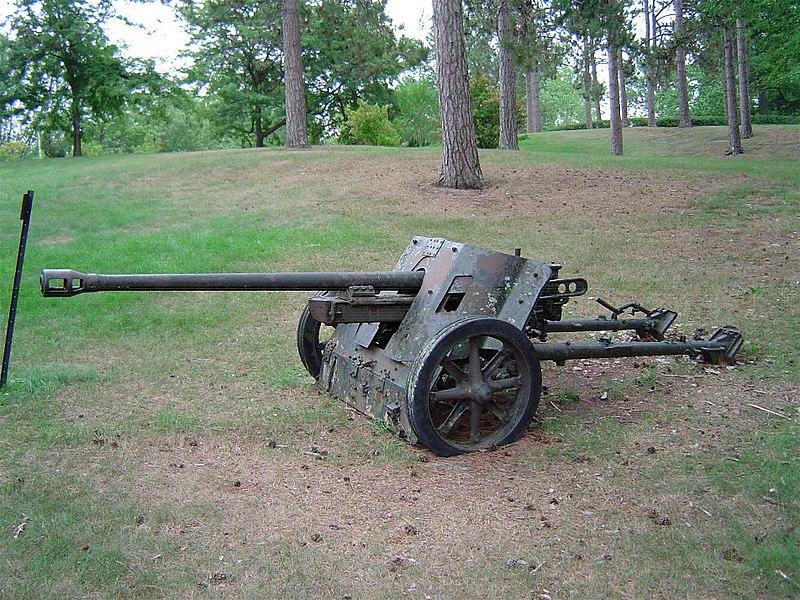 German 50 Mm Anti Tank Gun: File:Pak38 Cfb Borden 2.JPG