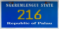 Palau license plate Ngeremlengui 20XX b.png