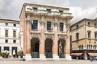 1570s in architecture - Palazzo del Capitaniato, Vicenza