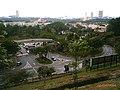 Pandangan ke bawah (dari depan) Canseleri Tuanku Syed Sirajuddin (Zon 1), Universiti Teknologi MARA (UiTM), Seksyen 1, 40450 Shah Alam, Selangor - panoramio.jpg