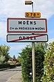 Panneaux sortie Ornex entrée Moëns Prévession Moëns 4.jpg