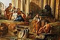 Pannini - Caprice architectural avec prédicateur dans des ruines romaines 03.jpg
