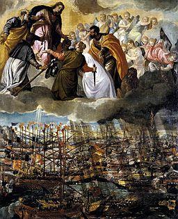 Paolo Veronese - Battle of Lepanto - WGA24971