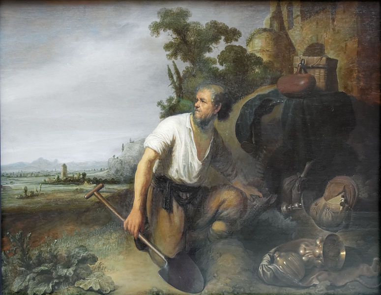 File:Parable of the hidden treasure Rembrandt - Gerard Dou.jpg