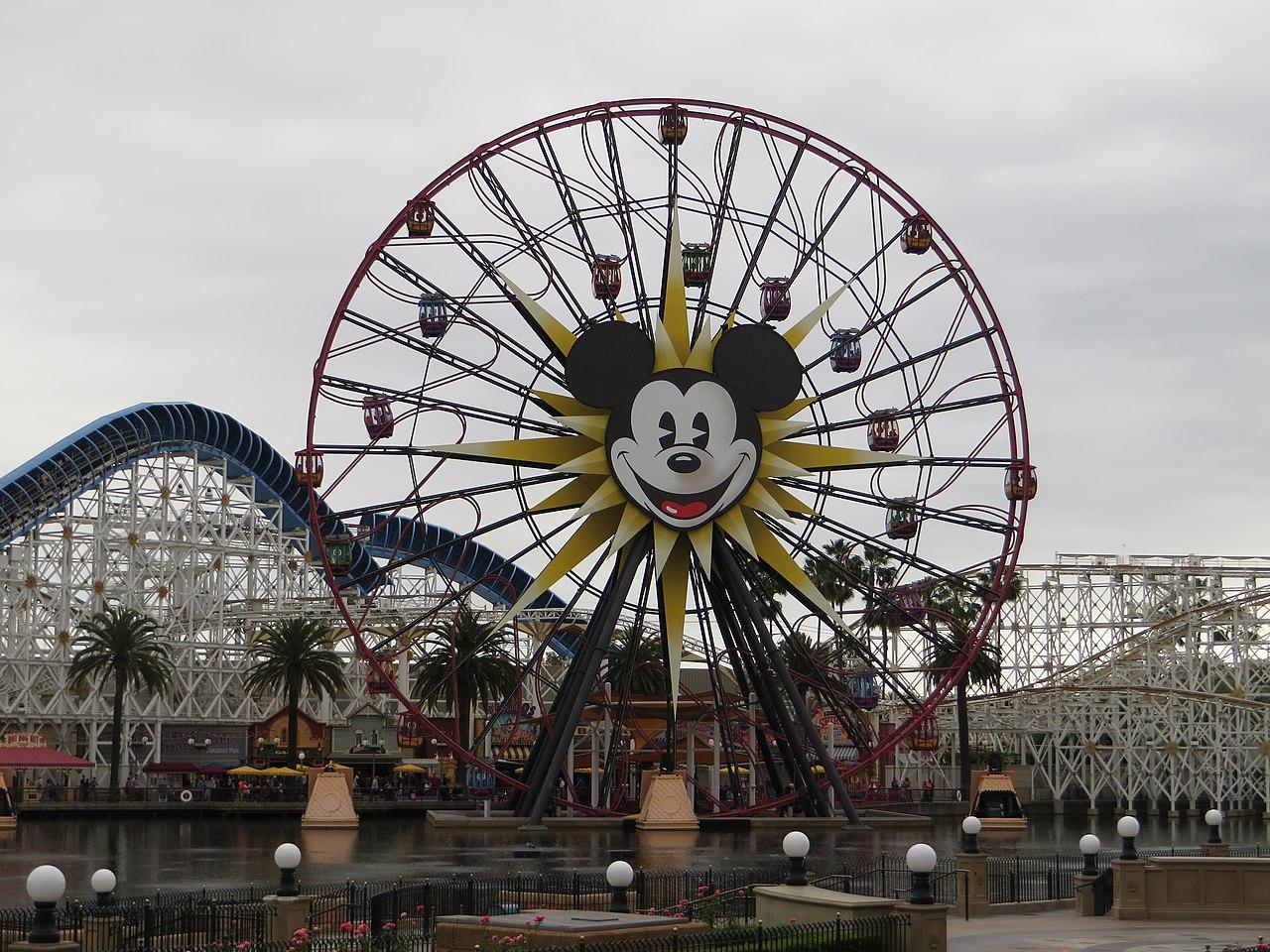 File:Paradise Pier, Disney California Adventure, Anaheim ...