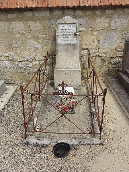 Pargnan (Aisne) tombe de guerre