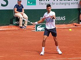 331271d972 Novak Djokovic en Roland Garros 2017