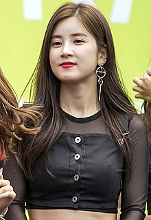 Park Cho-rong at Mercedes-Benz Give N Race, 27 May 2018 01 (cropped).jpg