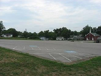 Old Fort Harrod State Park - Image: Parking lot for Old Fort Harrod State Park