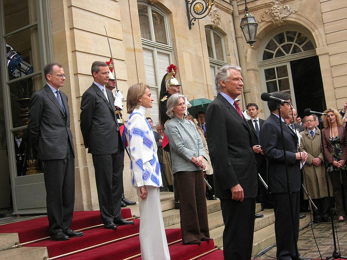 Liste des directeurs de cabinet du premier ministre - Cabinet du ministre de l interieur ...