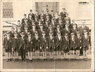 Pat Eddery - Eddery's class at Oatlands Primary School in Stillorgan