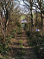Path to the Coastguard Cottages, Kimmeridge Bay - geograph.org.uk - 695817.jpg