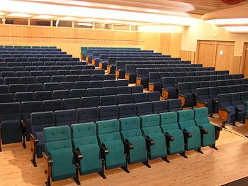 Patio de butacas del Teatro Cine Regio