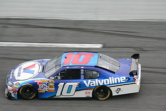 Patrick Carpentier - 2008 Sprint Cup racecar