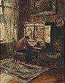 Paul Barthel Interieur mit Dame am Schreibtisch.jpg