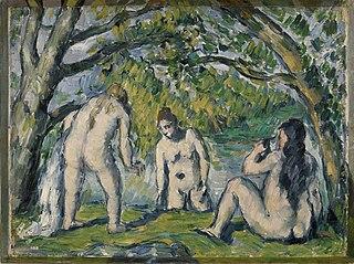 Three Bathers (Trois baigneuses)