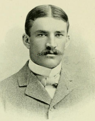 Paul Dashiell - Dashiell pictured in Epitome 1898, Lehigh yearbook