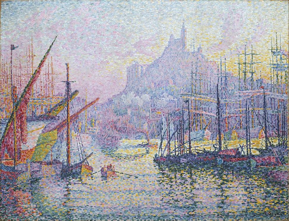 Paul Signac Port de Marseille