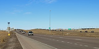 Peña Boulevard Freeway in Denver, Colorado, United States