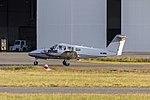 Pearson Aviation (VH-HMQ) Piper PA-44-180 Seminole taxiing at Wagga Wagga Airport.jpg