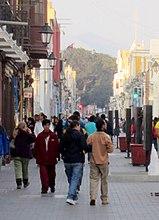 Pedestrian Street Pizarro