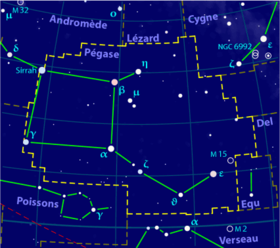 Image illustrative de l'article Pégase (constellation)