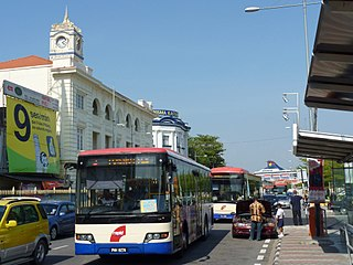Weld Quay, George Town Place in Penang, Malaysia