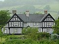Penarth, a black and white house near Newtown (geograph 2980737).jpg