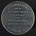 Penning op de Internationale Koloniale- en Uitvoerhandel Tentoonstelling te Amsterdam, objectnr 57846(2).JPG