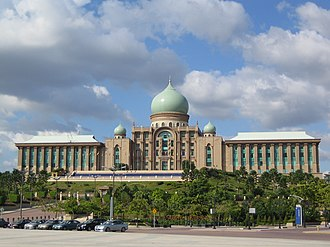 Prime Minister of Malaysia - The Prime Minister's office at Perdana Putra, Putrajaya