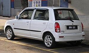Perodua Kelisa - Image: Perodua Kelisa (first facelift) (rear), Kuala Lumpur