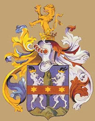 Pejačević - Coat of arms of Parčević family, ancestral house of Pejačević