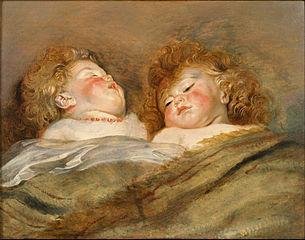 Two Sleeping Children