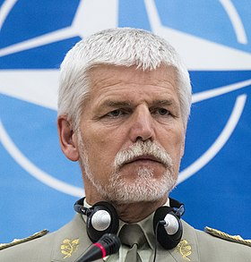 Petr Pavel - NATO Military Committee in Chiefs of Defense Session - 2017 (37122714191) (cropped).jpg