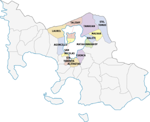 Legislative districts of Batangas - 3rd district of Batangas