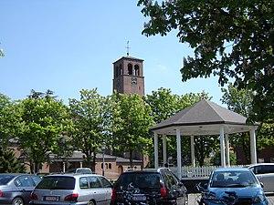 Philippine, Netherlands - Philipsplein square with bandstand