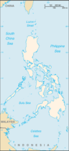 Philippine locator map