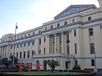 English: Philippine National Museum in Manila,...