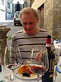 Phillip at lunch, Cortona, Tuscany, 2009 - Flickr - PhillipC (1).jpg