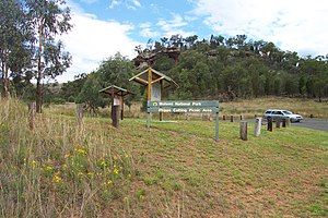 Wollemi National Park - Phipps Cutting Picnic Area on the Bylong Valley Way is an entry point for hiking