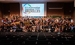 Photo de groupe wikiconvention 2019.jpg