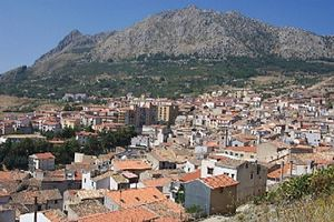Piana degli Albanesi - Overview from the hill Sheshi