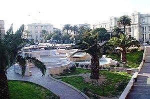 Catanzaro - Matteotti Square (Piazza Matteotti)