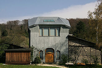 Dornach - A building near the Goetheanum