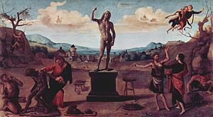 The Myth of Prometheus (Piero di Cosimo) - Image: Piero di Cosimo 038